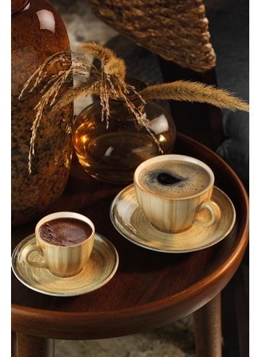 Kütahya Porselen Nanokrem Kahve Takımı 891001 Renkli